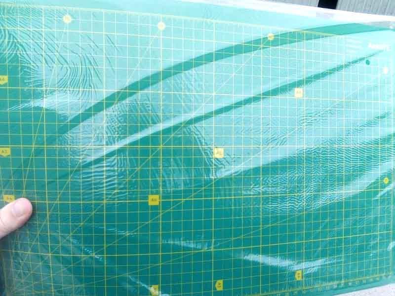 Коврик самовосстанавливающийся для резки 7906, А3 (30х45см)
