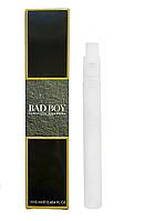 Мужской мини парфюм спрей Carolina Herrera Bad Boy - 10 мл