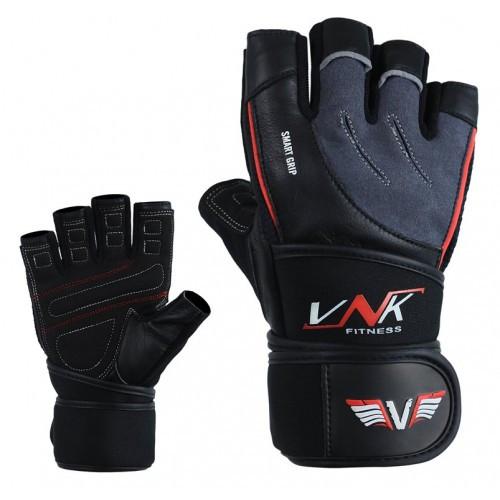 Перчатки для фитнеса VNK SGRIP Grey L