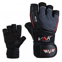 Перчатки для фитнеса VNK SGRIP Grey L, фото 1