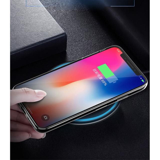 Прозрачный силиконовый чехол ультратонкий для Iphone X - 5