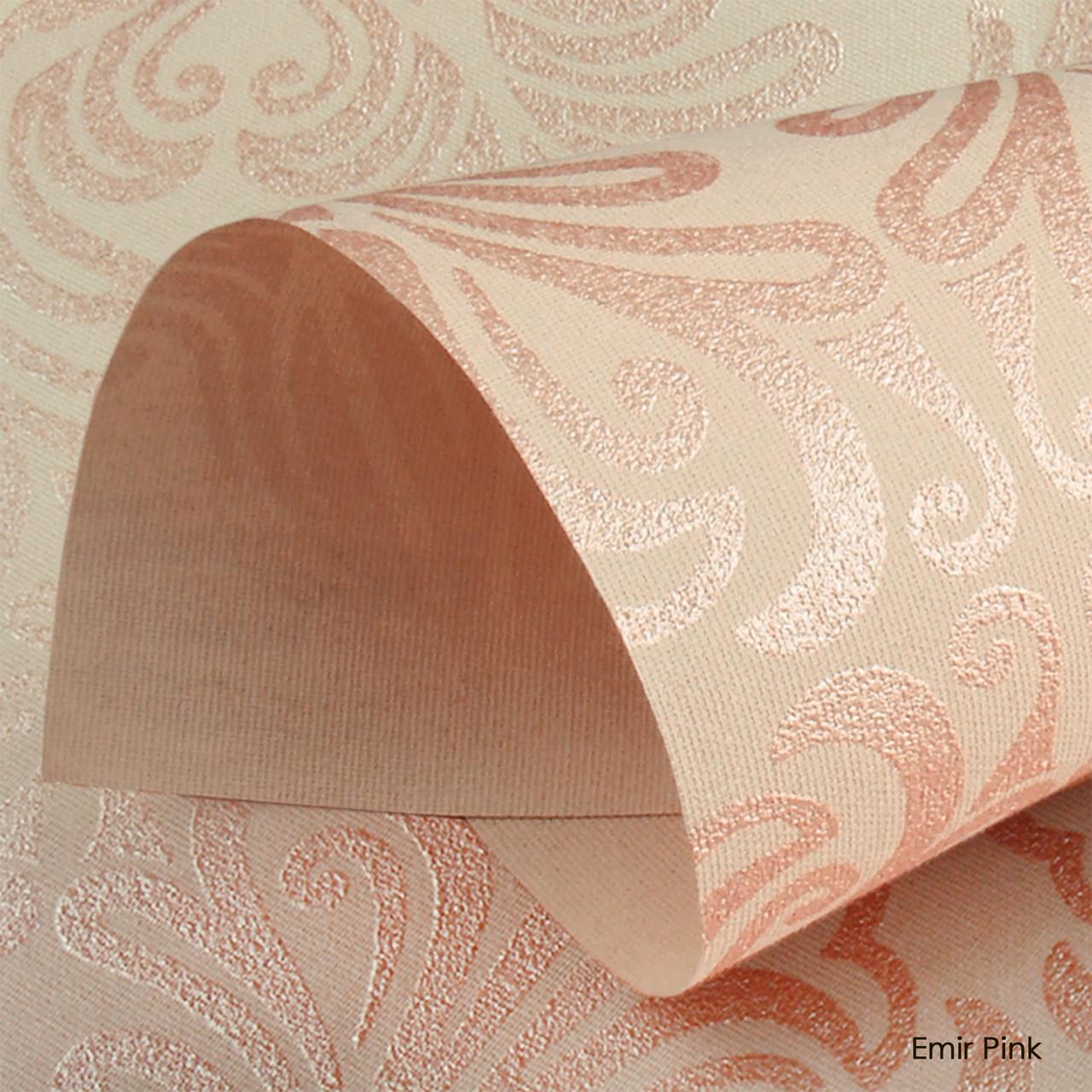 Ролеты тканевые Emir Pink