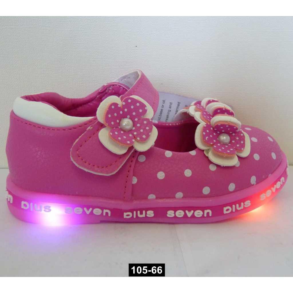 Светящиеся туфли для девочки, 25 размер, с супинатором, 105-66