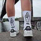 """Відмінні шкарпетки з написом """"МЕНІ ПОЩАСТИТЬ"""", фото 2"""