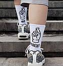 """Отличные носочки с надписью """"МНЕ ПОВЕЗЕТ"""", фото 3"""