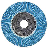 Круг лепестковый торцевой Т29 (конический) ZA Ø125мм P60 SIGMA (9173531), фото 1
