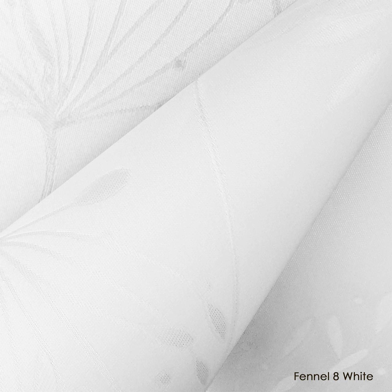Ролети тканинні Fennel 8 White