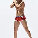 Боксеры красные с полосами Seobean, фото 2