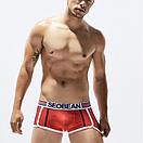 Боксеры красные с полосами Seobean, фото 4