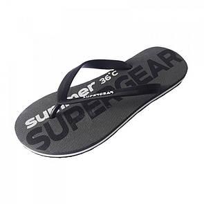 Серая резиновая обувь