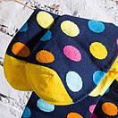 Чоловічі шкарпетки в різнобарвний горох Friendly Socks, фото 7