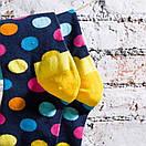 Чоловічі шкарпетки в різнобарвний горох Friendly Socks, фото 8