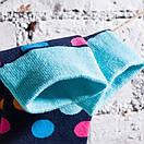Чоловічі шкарпетки в різнобарвний горох Friendly Socks, фото 9