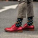Мужские носки черного цвета в разноцветный горох Friendly Socks, фото 3
