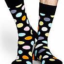 Мужские носки черного цвета в разноцветный горох Friendly Socks, фото 7