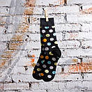 Мужские носки черного цвета в разноцветный горох Friendly Socks, фото 8