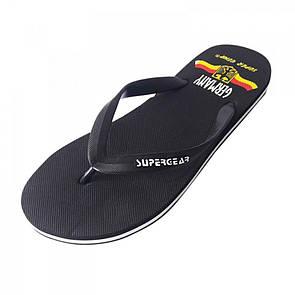 Обувь пляжная черного цвета