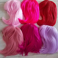 Карнавальные цветные парики каре