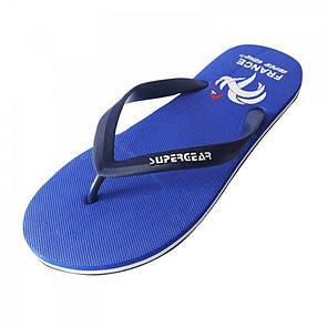 Синие пляжные вьетнамки для мужчин от Super Gear