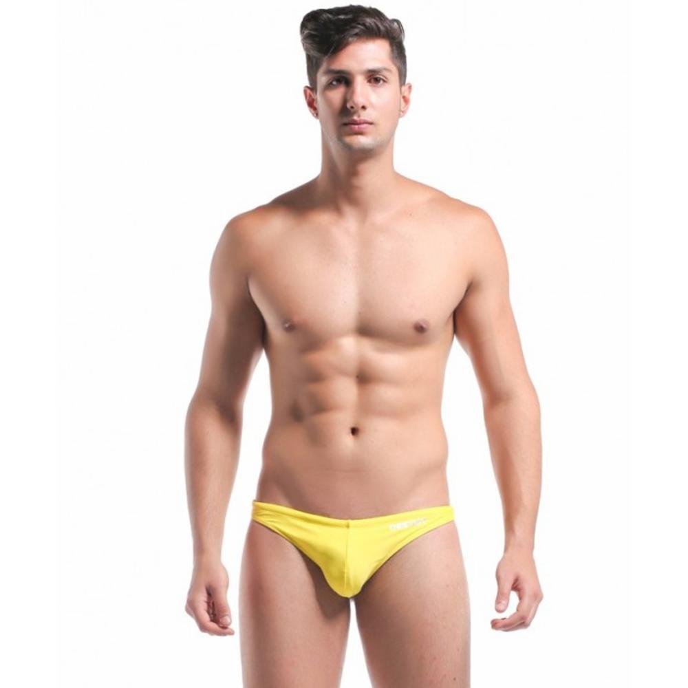 Желтые мужские плавки