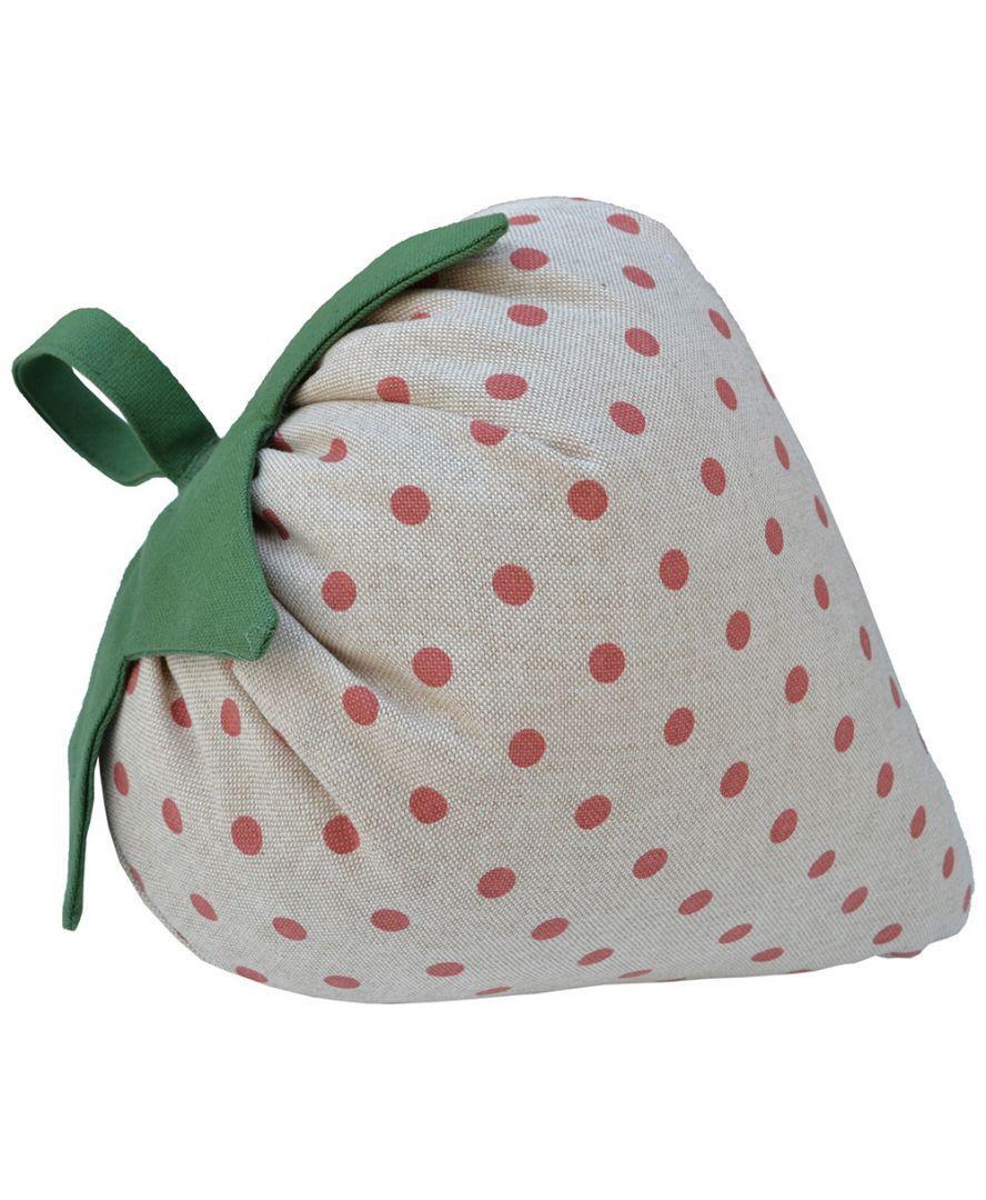 Подушка-игрушка декоративная Клубника 30 см