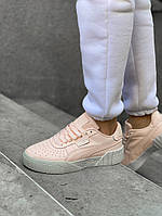 Кроссовки женские Puma Cali.Стильные кроссовки персикового цвета., фото 1