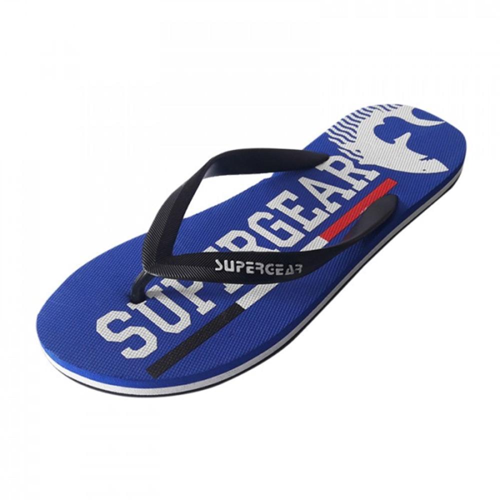 Обувь для пляжа синего цвета