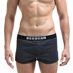 Стильные темно-синие боксеры Seobean