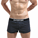 Стильные темно-синие боксеры Seobean, фото 3