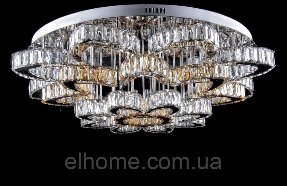 Кругла люстра  L78323/24+1 (CR+SHANBIN) LED