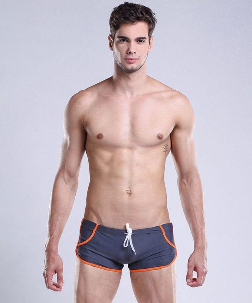 Стильные мужские плавки Desmit серого цвета