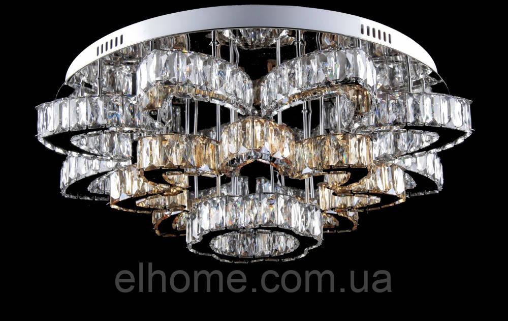 Кругла люстра  L78323/16+1 (CR+SHANBIN) LED