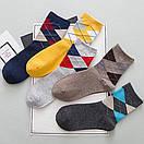 Хлопковые мужские носки в наборе (5 пар), фото 3