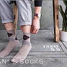 Хлопковые мужские носки в наборе (5 пар), фото 6