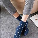 Набор классических мужских носков темно-синего цвета (5 пар), фото 5