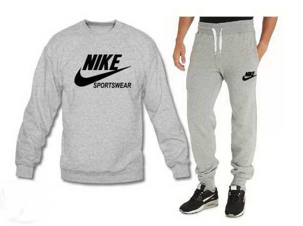 a6539435 Мужской спортивный костюм Nike серого цвета - Интернет магазин обуви  «im-РоLLi» в