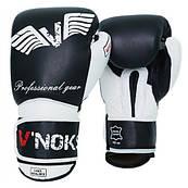 Боксерські рукавички V`Noks Aria White 10 ун.
