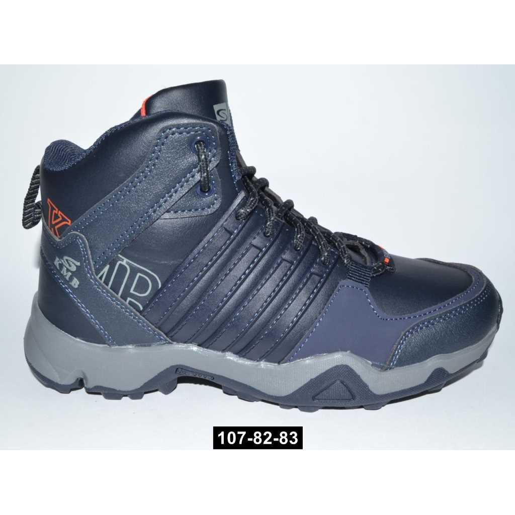 Высокие кроссовки для мальчика, 36-41 размер, подростковые ботинки, 107-82-83