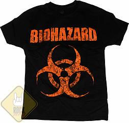 Футболка Biohazard, Размер 4XL (XXXL Euro)