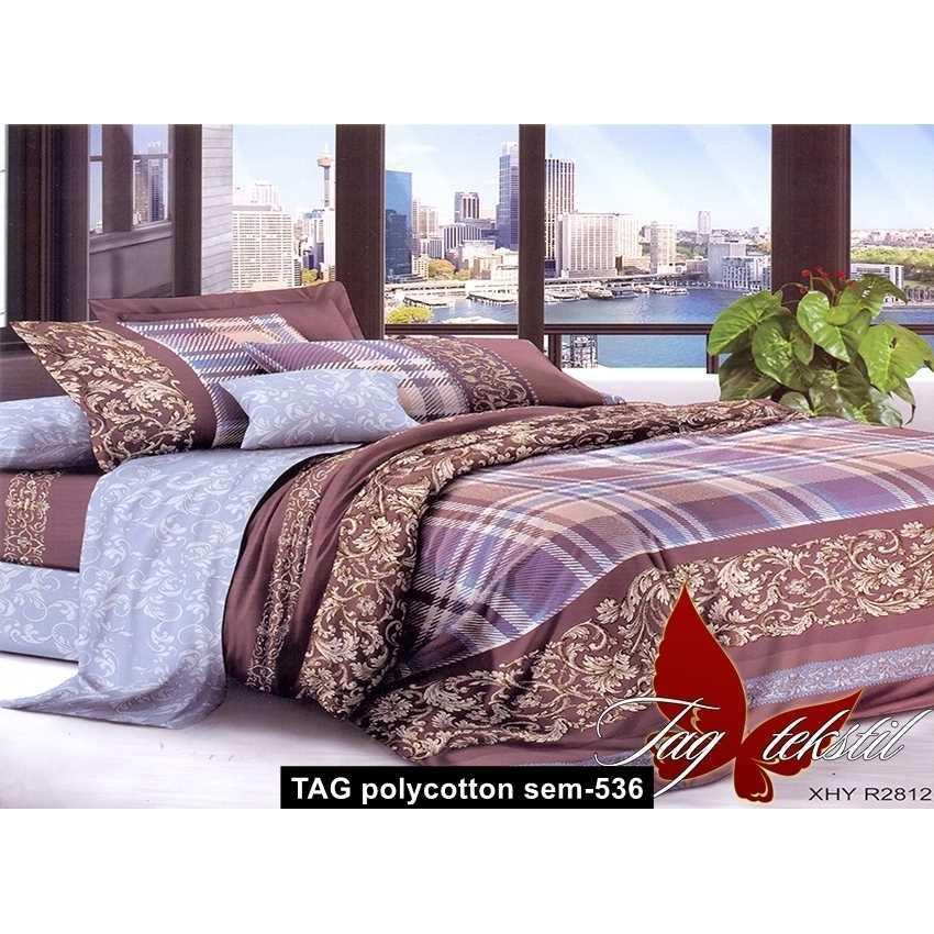 Комплект постельного белья XHY2812, TAG polycotton sem-536