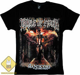 """Футболка Cradle Of Filth """"Manticore And Other Horrors"""", Размер 4XL (XXXL Euro)"""