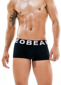 Боксеры мужские черного цвета Seobean