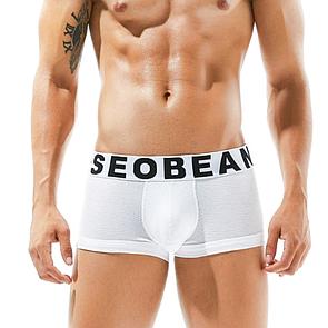 Крутые боксеры Seobean белого цвета