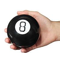 Магічний куля провісник 10 см Magic 8 Ball чорний