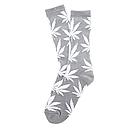Серые носки HUF в белый лист, фото 3