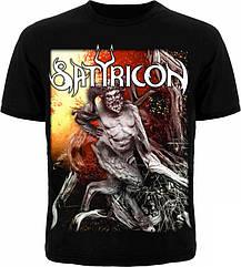 """Футболка Satyricon """"Satyricon"""", Размер 4XL (XXXL Euro)"""