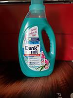 Бесфосфатный гель для стирки цветного белья с экстрактом лотоса  Denkmit Colorwaschmittel Lotusblute  1100 мл