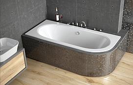 Ванна акриловая Avita Slim 150х75  BESCO левосторонняя