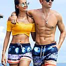 Різнокольорові пляжні шорти Gailang на шнурівці, фото 6