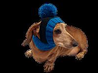 Шапка для собаки с открытыми ушами